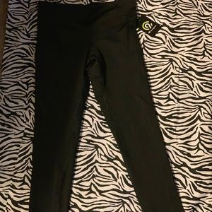 NWT Champion Brand leggings with side phone pocket